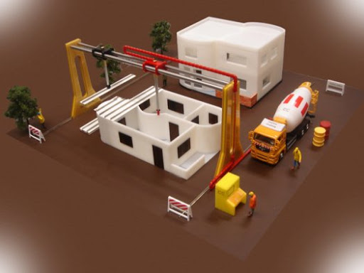 3D printer to build a house, is it the future of cementitous materials?